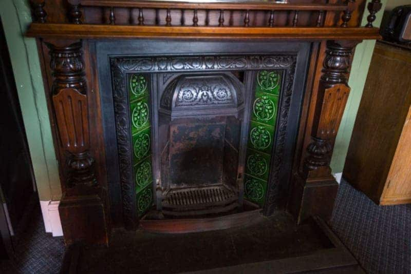 fireplaces were common elements of Newfoundland architecture