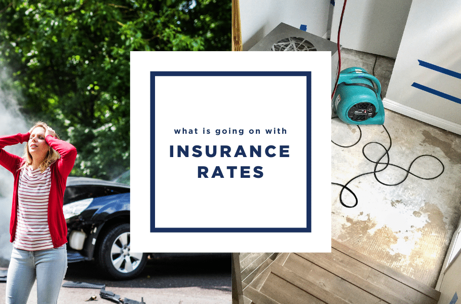 What is going on with insurance rates?