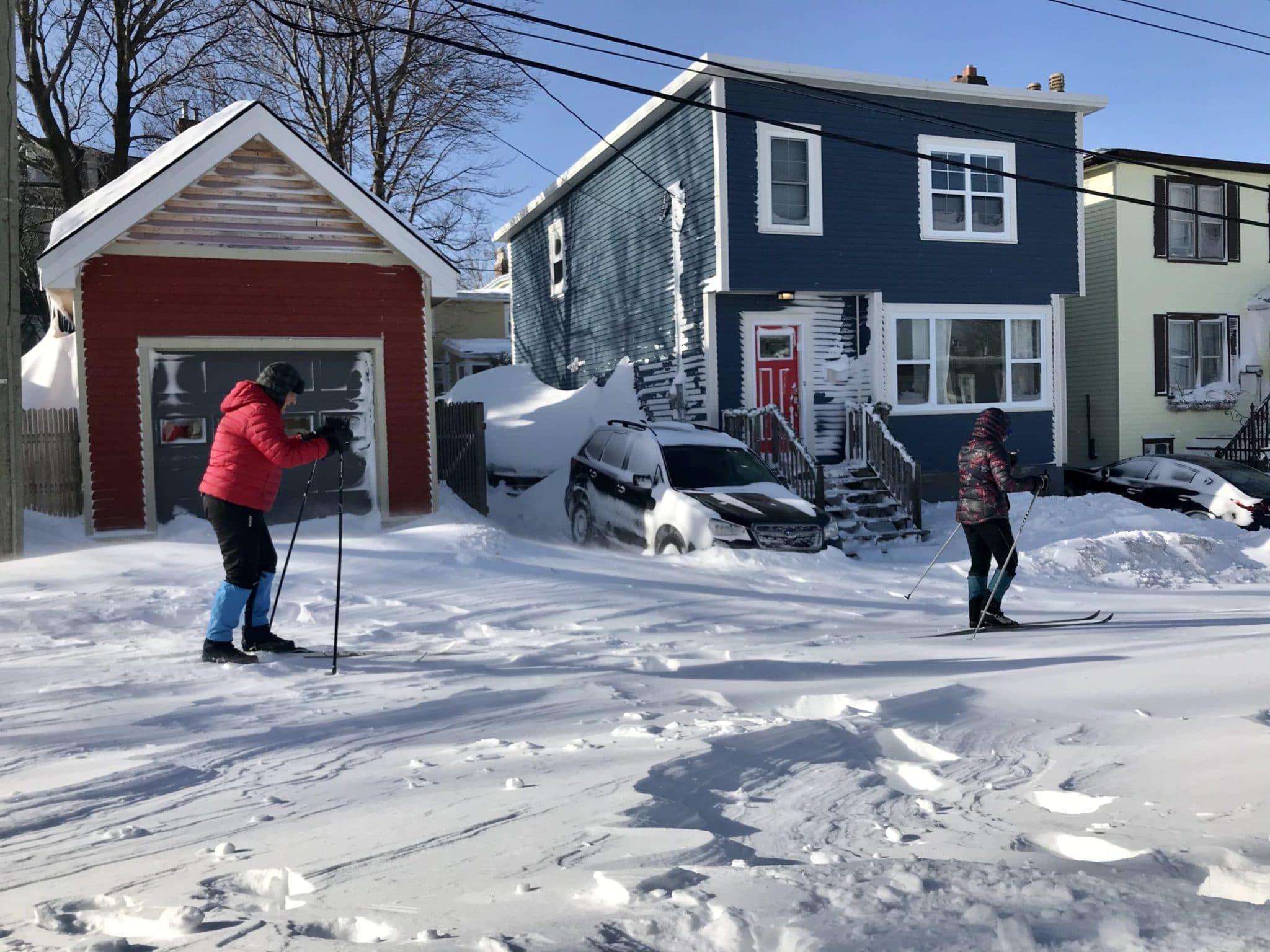 St. John's Record Snowfall