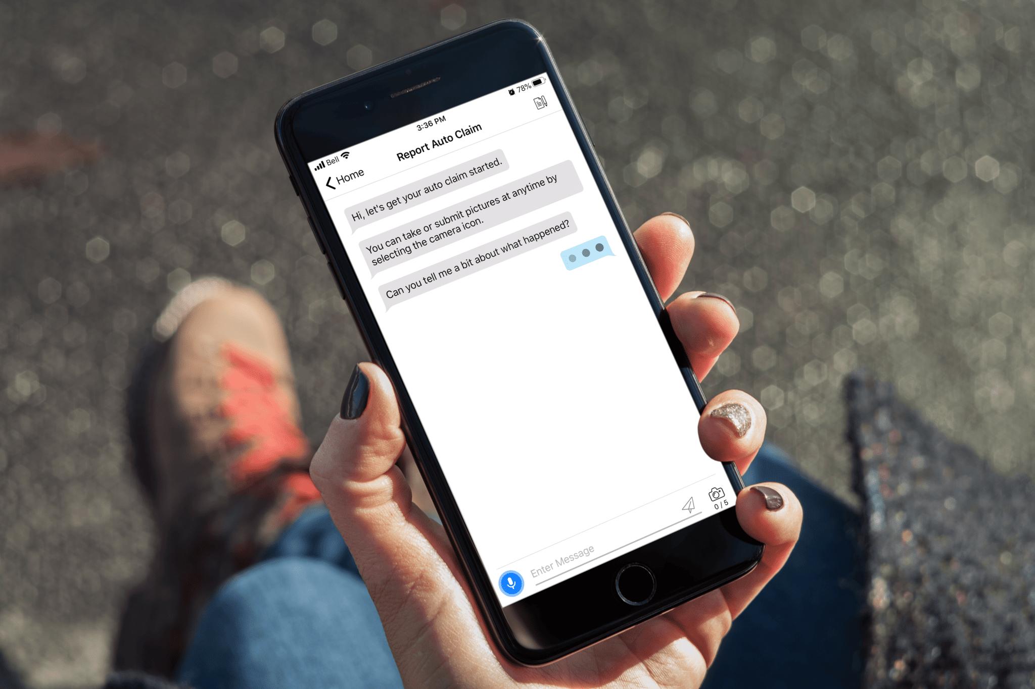 W/24 App Claim Chat Bot